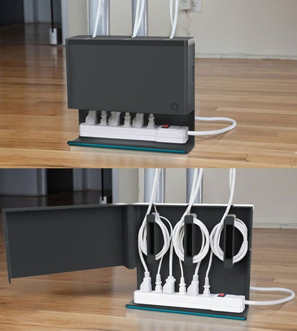 Use cable ties as a good way to organise wires